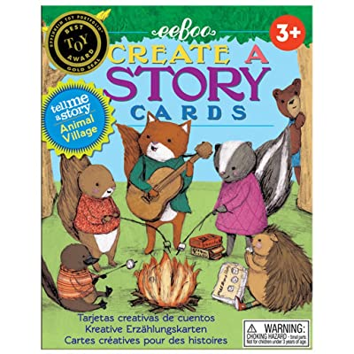 eeBoo Create and Tell Me A Story Cards, Animal Village: Varios: Toys & Games