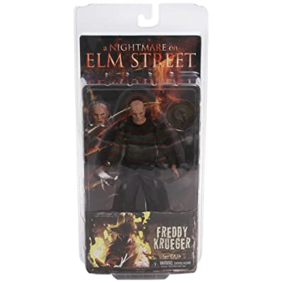 "NECA - A Nightmare on Elm Street ""Freddy Krueger"" 7"" Action Figure: Toys & Games"