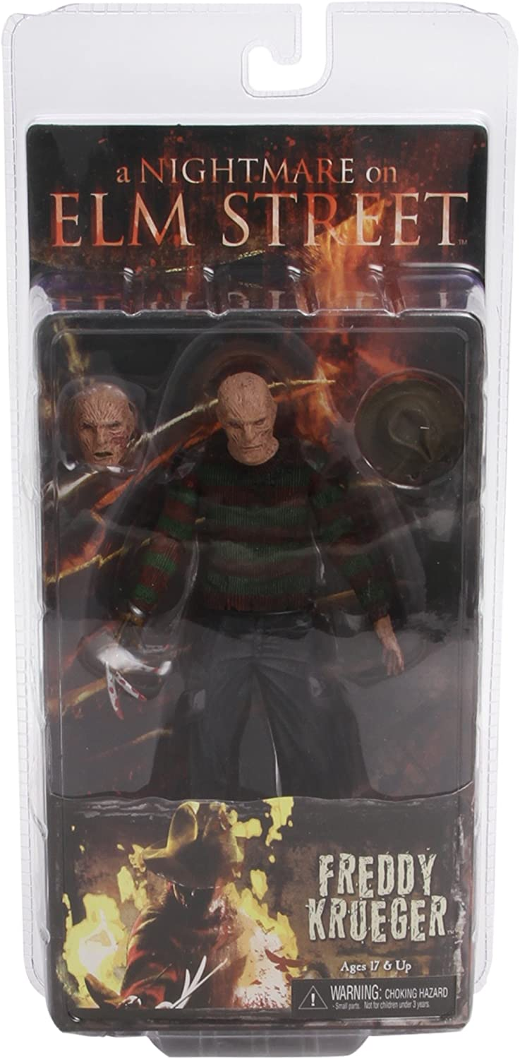 NECA 18cm Freddy Krueger Nightmare On Elm Street 3 Dream Action Figur Modell Toy