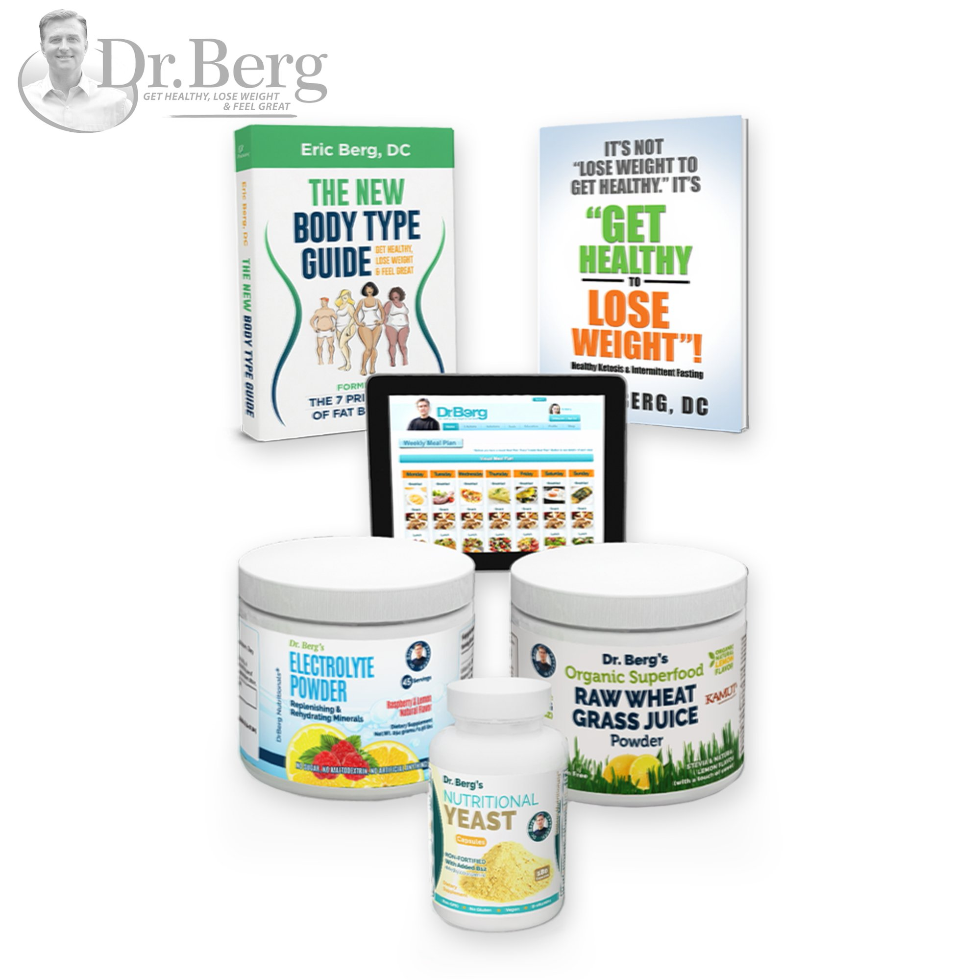 Dr. Berg's Keto Kit (With Bonus Meal Maker)