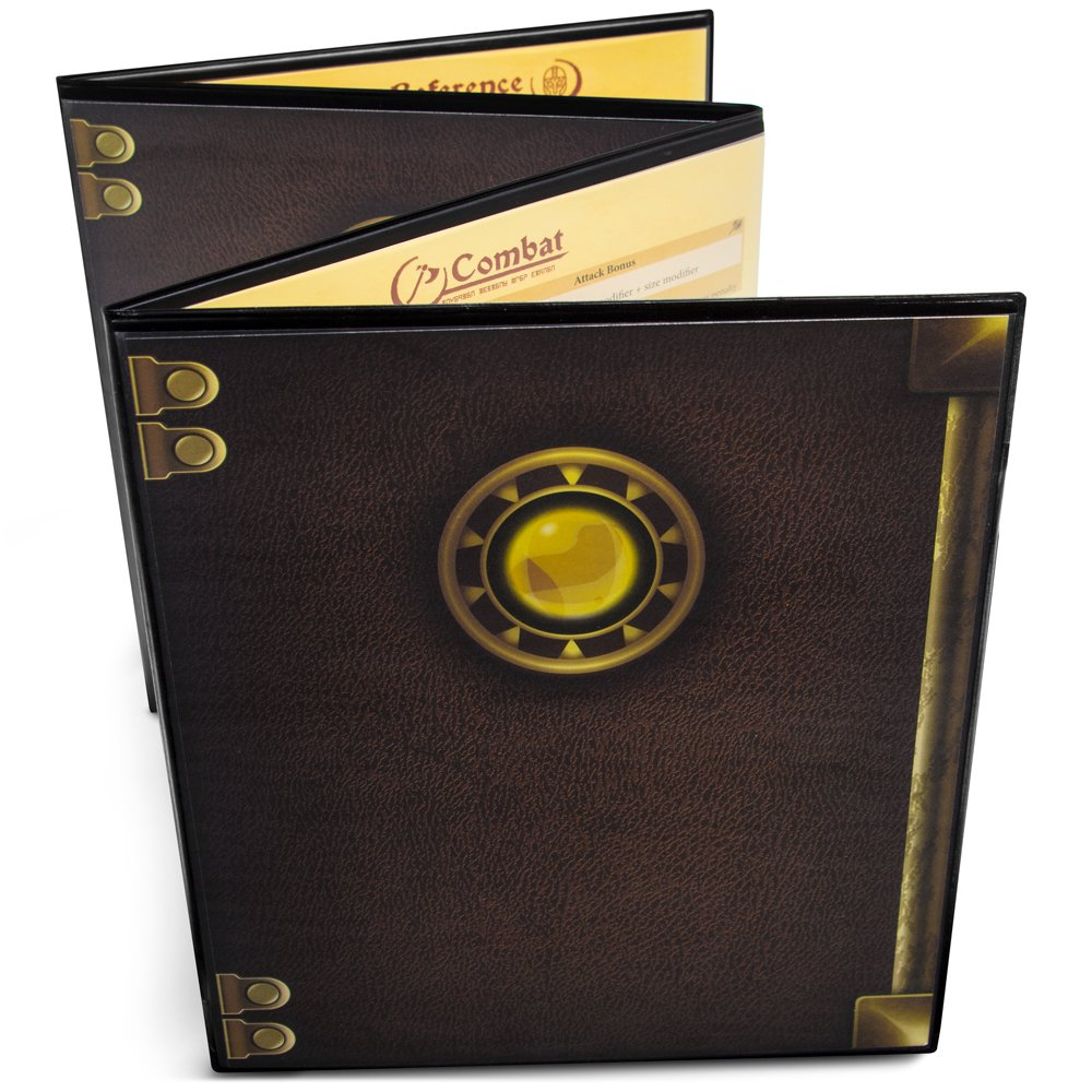 Stratagem GRPG-002 The Master's Tome Customizable DM Screen, Black Brybelly Holdings Inc.