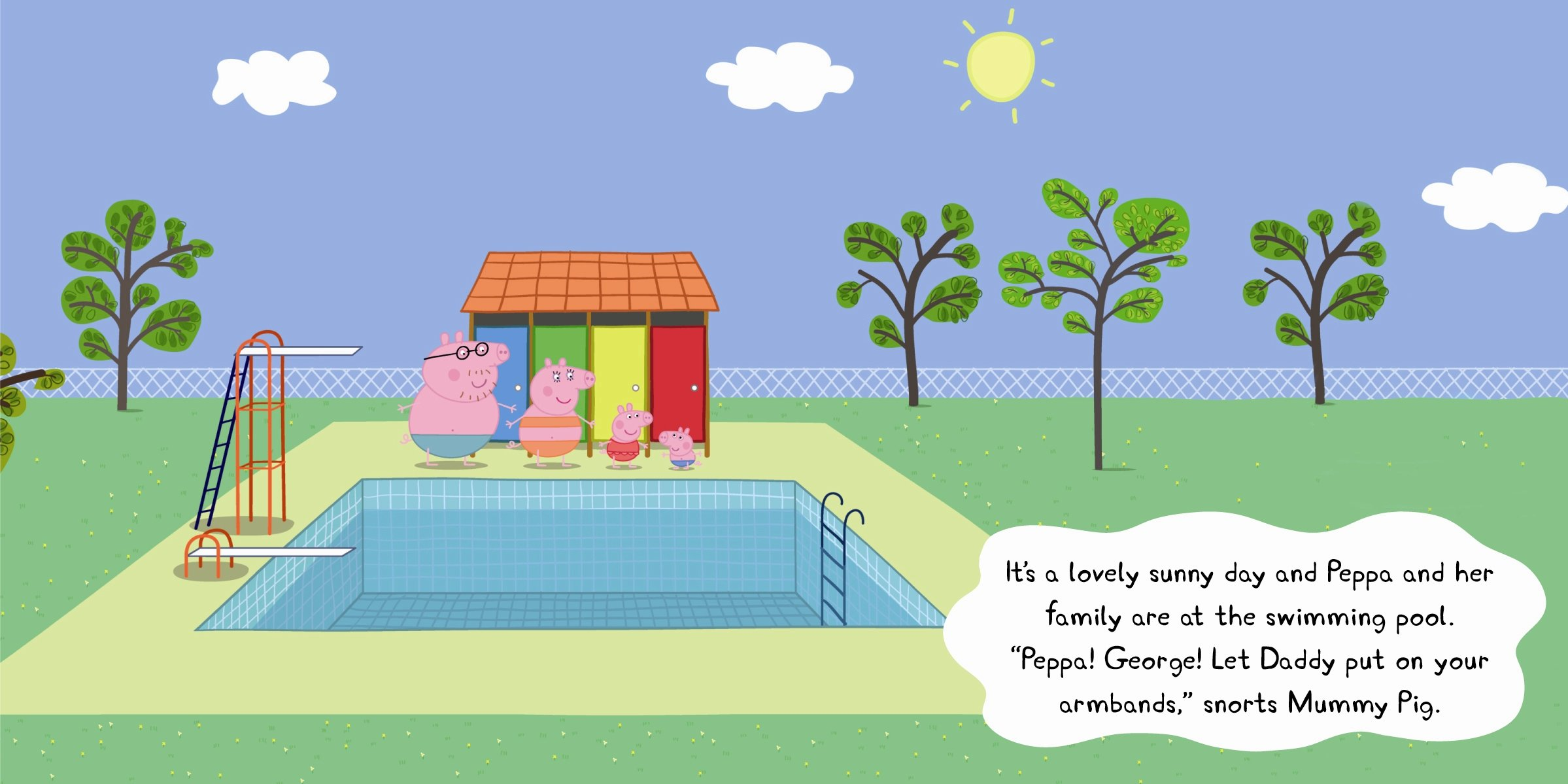 Peppa Pig and george go Swimming dvd new episodes 2013 - YouTube