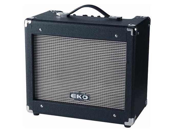 EKO - Amplificador combo V 25R para guitarra eléctrica: Amazon.es ...