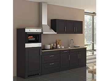 Küchenzeile Einbauküche Küchenblock Küche Küchen-Set ...