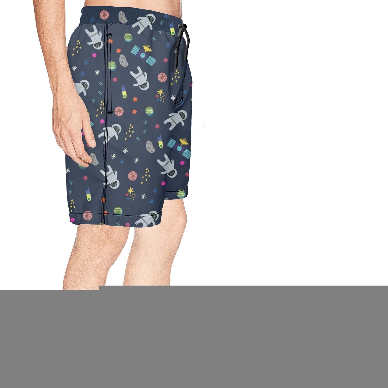 Mans Summer Boardshort Arrow Pattern Colorful Beachwear