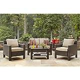 Amazon.com : Patio Furniture Sale - Hampton Bay Patio Set ...