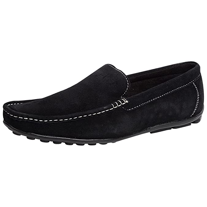 Andrew Scott Men's Leather Loafers Loafers & Moccasins at amazon