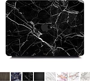 Koru Premium Black Marble Vinyl Decal Skin Sticker Case Cover for MacBook Air 13 inch - 2018/2019 Release (Model A1932)