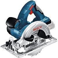 Bosch Professional 18V System sladdlös cirkelsåg GKS 18 V-LI (sågdjup 90°/45°: 51/40 mm, steglös skärdjupsinställning…