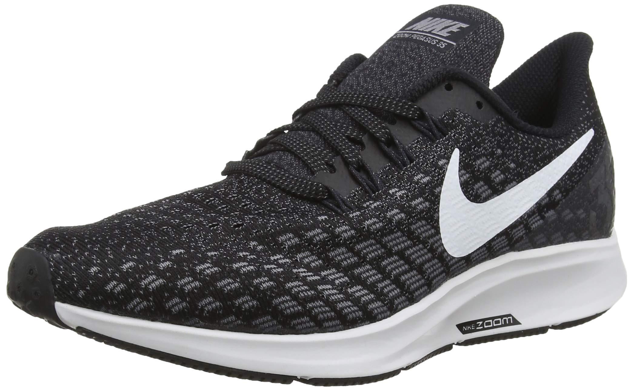 Nike Men's Air Zoom Pegasus 35 Running Shoe (6 M US, Black/White/Gunsmoke/Oil Grey) by Nike (Image #1)