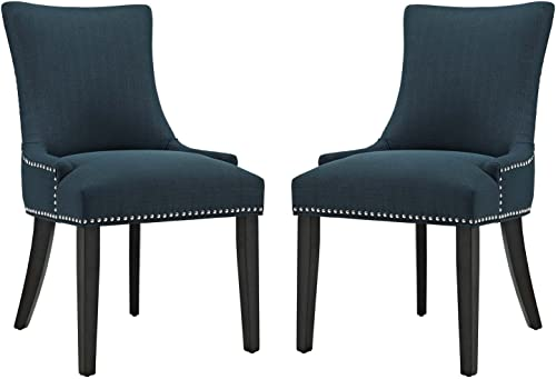 Modway Marquis Modern Elegant Upholstered Fabric Parsons Dining Side Chair