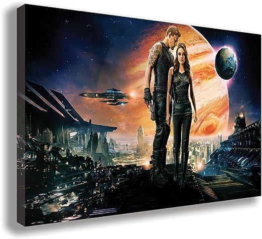 Amazon Com Jupiter Ascending 2015 Movie Canvas Wall Art 30 X 18 75 X 45cm Posters Prints