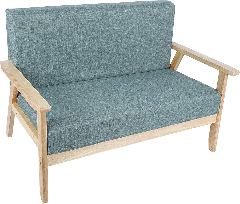 Lounge Sessel Holzsessel Relaxsessel Sofa mit Armlehnen aus Massivholz Wohnzimmersessel f/ür Wohnzimmer Schlafzimmer Maximale Belastung 500kg 61 x 113.6 x 73.5 cm
