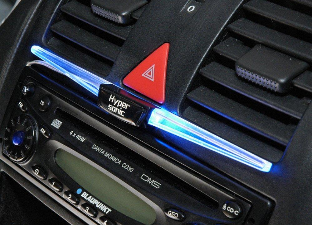 Hypersonic/® HP-2231 Universal BLUE LED Leuchte BLAU Innenlampe Auto Zusatzbeleuchtung Leseleuchte Innenraumbeleuchtung Fu/ßraumbeleuchtung Tuningleuchte 12V LED Lampe