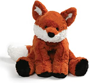 "GUND Cozys Collection Fox Stuffed Animal Plush, Orange and White, 10"""