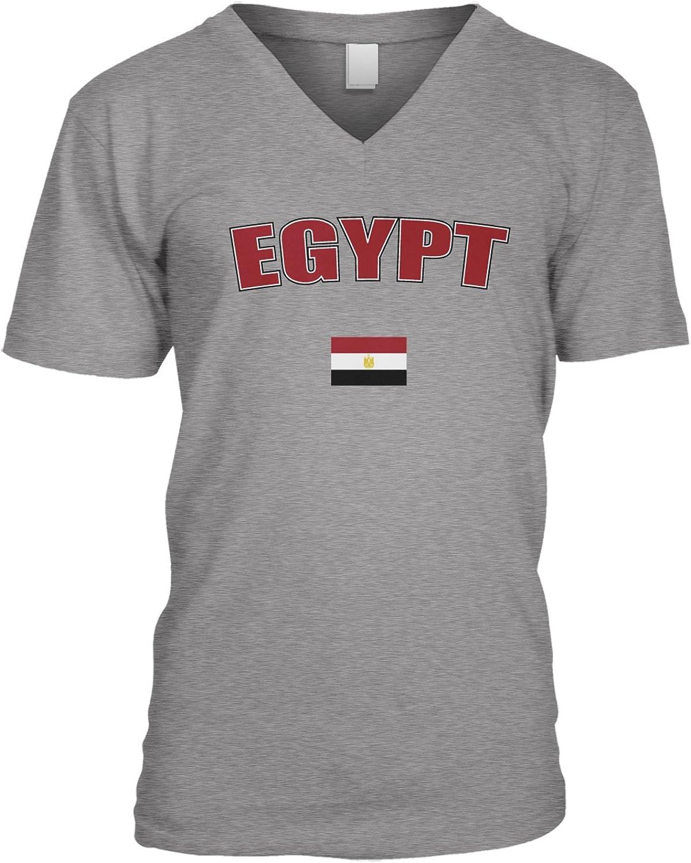 Egypt text V-Neck T-Shirt