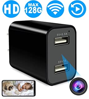Hidden Camera, Spy Camera with Remote Viewing, 1080P HD H.264 Nanny Camera