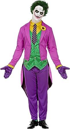 WIDMANN Disfraz XL de Joker chiflado para Hombre: Amazon.es ...