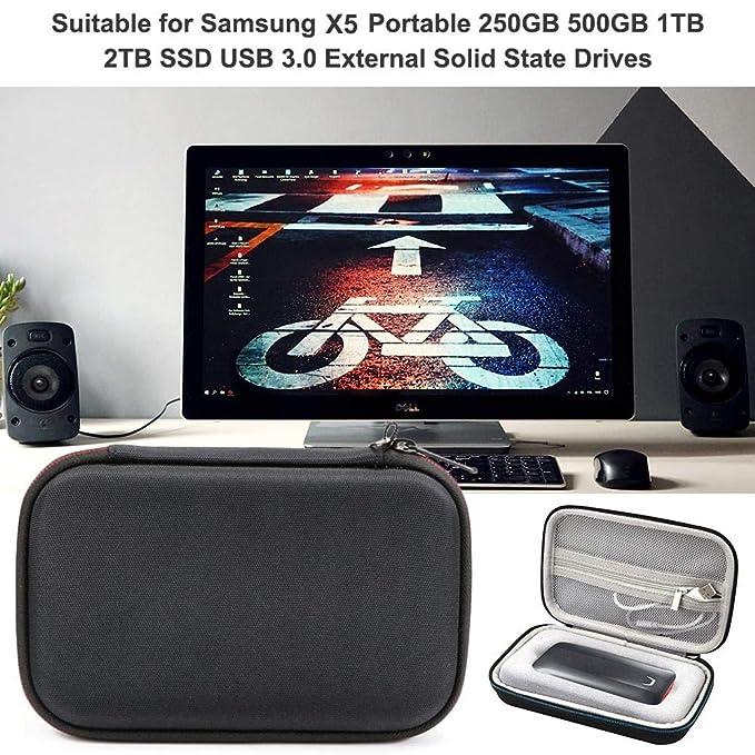 zhichu - Disco Duro portátil SSD para Samsung X5 (250 GB, 500 GB ...