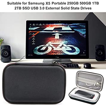 Falliback - Funda para Disco Duro para Samsung X5 portátil SSD ...