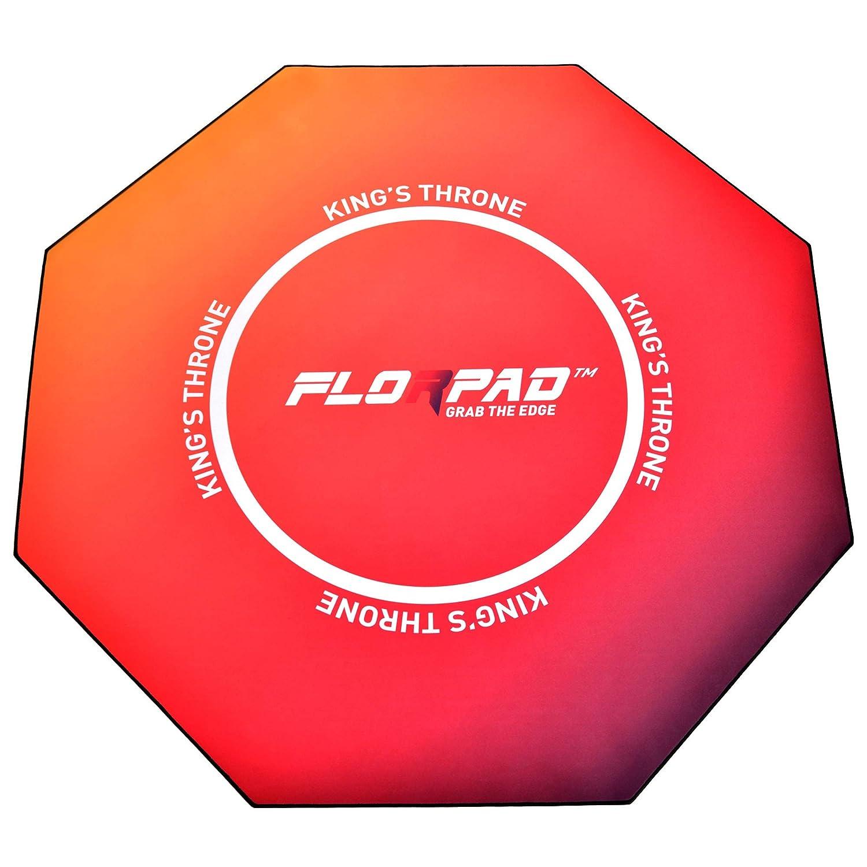 【お1人様1点限り】 Florpad Kings B07K6X48LR Throne 45インチ x 45インチ 床傷防止フロアマット | Kings 撥水 滑らかな表面 | 複数のスタイル | ノイズキャンセリング | 滑らかな表面 B07K6X48LR, 可愛いエコバッグ AIRY&CO.:6e4b1797 --- sabinosports.com