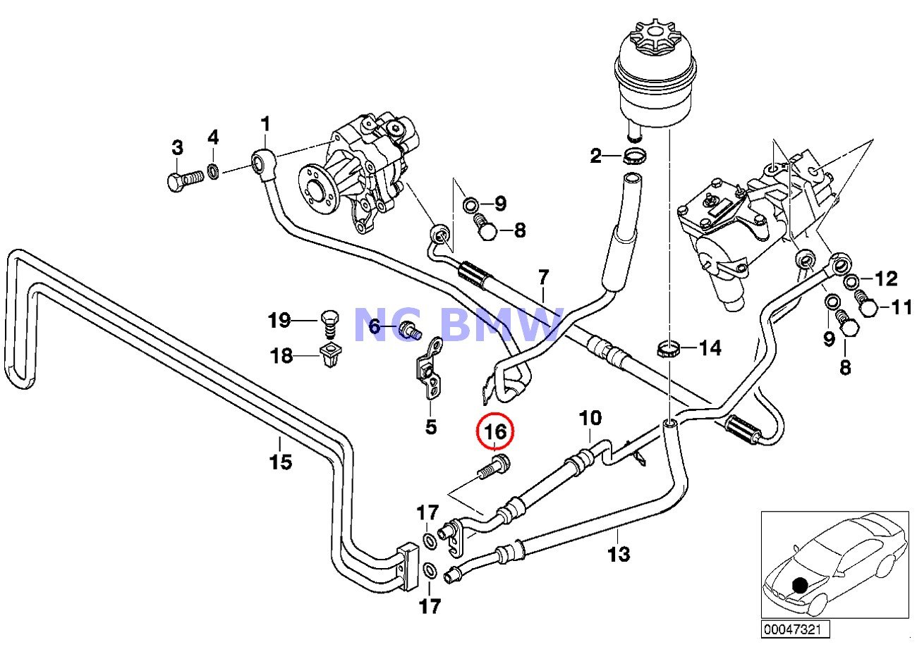 amazon bmw genuine engine transmission oil cooler pipe heat 2004 BMW 325I Engine Diagram bmw genuine engine transmission oil cooler pipe heat screw m8x28 z3 840ci 840i 850ci 318i 318is 318ti 320i 323i 325i 325is 328i m3 m3 3 2 740i 740il 740ilp