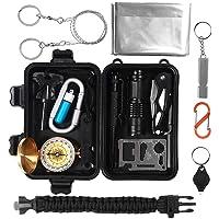2-Pack Ultimate Survival Technologies Trail Tweezer w//LED Silver//Black