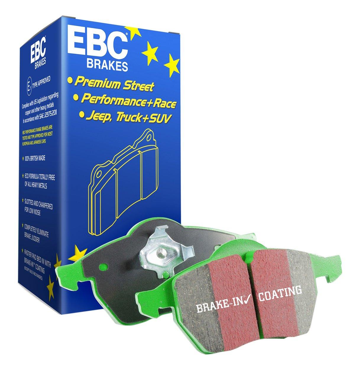 EBC Brakes DP22274 Greenstuff 2000 Series Sport Pad