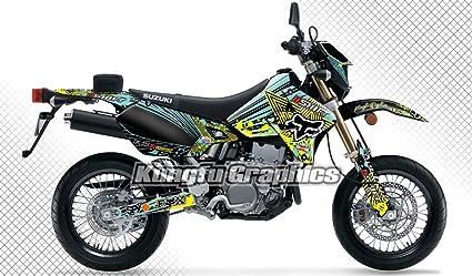 Amazon.com: Kungfu Graphics Custom Decal Kit for Suzuki DRZ400 SM ...