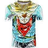 Dragon Ball T-Shirt Summer Cartoon Short Sleeve Camiseta Compression Shirt