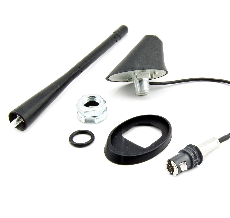 A6 Watermark ROKA Snap Antenne de Toit avec amplificateur pour Audi A3 Mini R50//R53 A4 Volvo V40