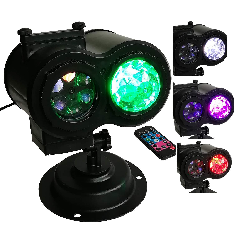 Luces De Proyector Navidad,Proyector De Decoración con 4 Luz ...