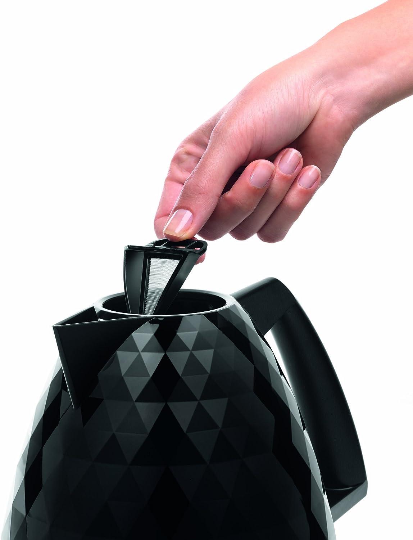 Black DeLonghi KBJ3001.BK Brillante KBJ3001BK Kettle