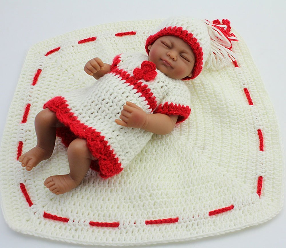 bluexuryフルシリコンLifelikeかわいい睡眠Reborn人形Baby Girl   B01EJKFZIS