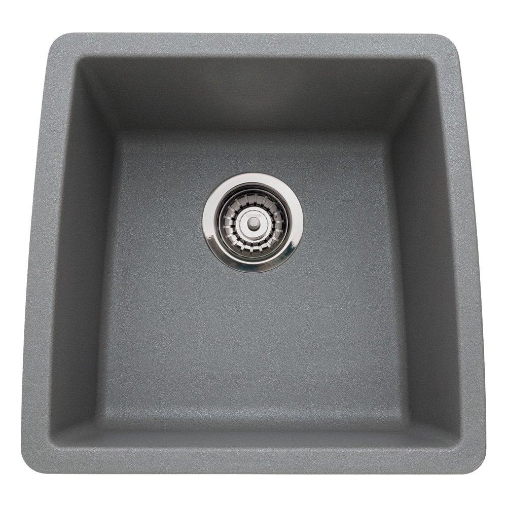 Blanco 440078 Performa Silgranit II Single Bowl Sink, Café Brown      Amazon.com