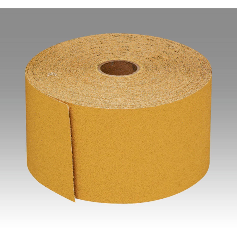"2-3//4/"" Wid Psa Attachment Aluminum Oxide 3M Stikit Gold Paper Sheet Roll 216U"
