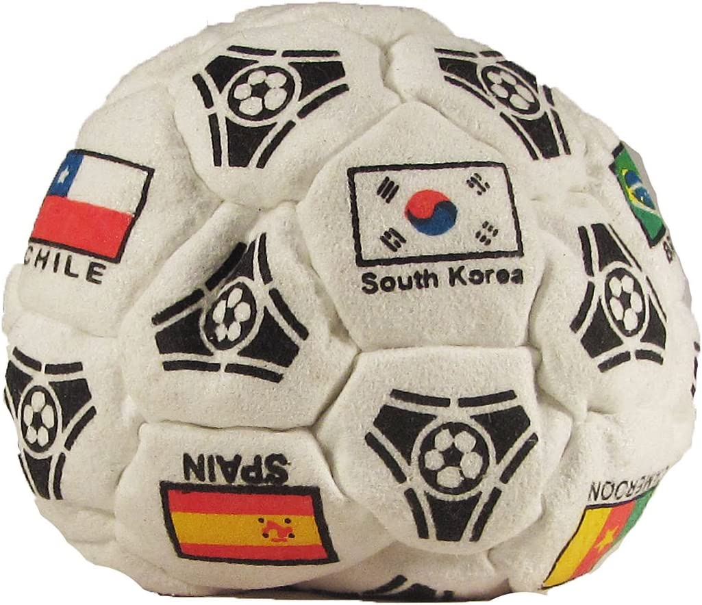 Hacky Sack World Cup Red Logos