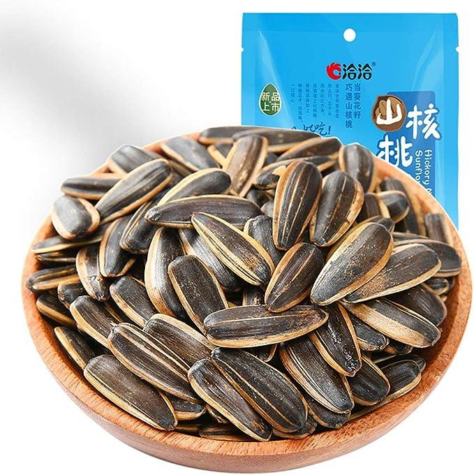 瓜子 山核桃味 洽洽 山核桃味瓜子ロースト ナッツ種子とナッツ真空梱包ピーカン風味ひまわりの種 108g*1袋