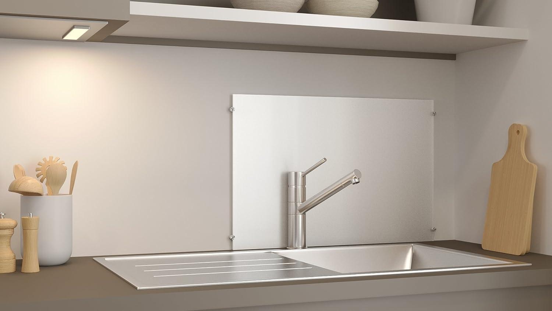 Glasvision | Küchenrückwand Aus Glas | Memoboard | Herdabdeckplatte (60 X  40 Cm, Satiniert): Amazon.de: Küche U0026 Haushalt