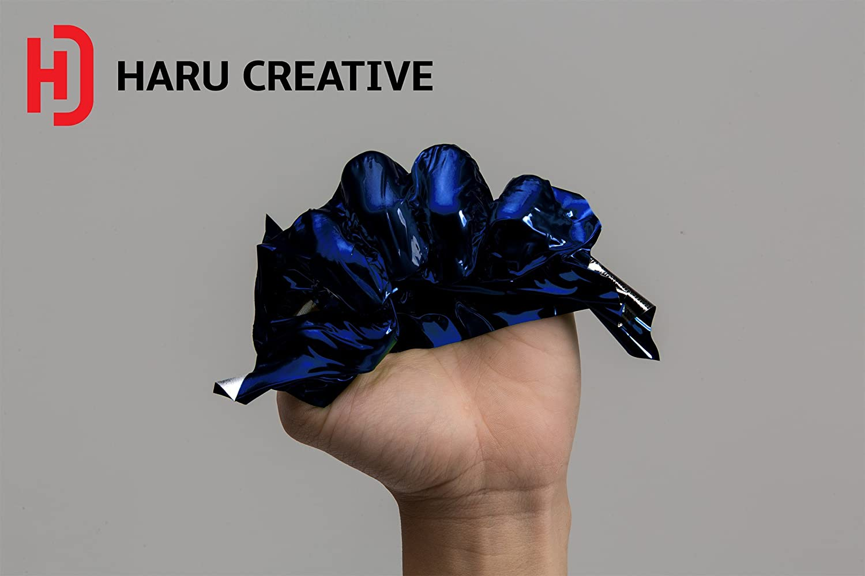 *Premium Sky Blue Supercast Chrome Vinyl Wrap Sticker Decal Air Release Big Cut
