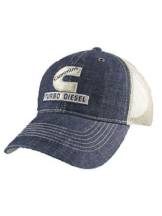 5458b9899 Cummins Turbo Diesel Mesh Back Cap