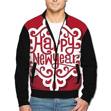 58d215eee Amazon.com: Mens Zipper Bomber Jacket Coat, Winter Stand Collar ...