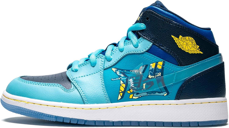 Nike Air Jordan 1 Mid (gs) Big Kids