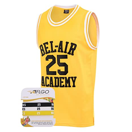 b49f11605fc0 AFLGO Banks  25 Fresh Prince of Bel Air Academy Basketball Jersey