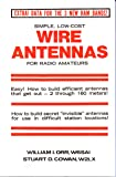 Simple Low Cost Wire Antennae