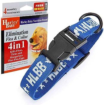 Gran perro 4 in1 pulgas y garrapatas Collar único protector pulgas ...