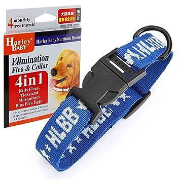 Gran perro 4 in1 pulgas y garrapatas Collar único protector pulgas, huevos de pulgas, garrapatas, mosquitos perros collares, arneses Leads básicos ...