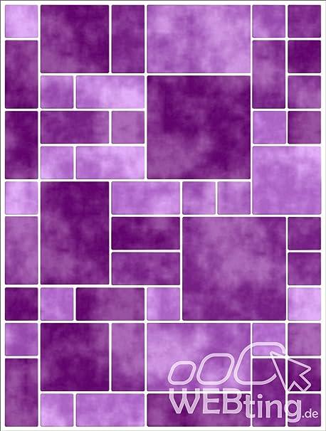 Mosaico Lilla Piastrelle Adesivo Piastrelle Immagine Finta Adesivo