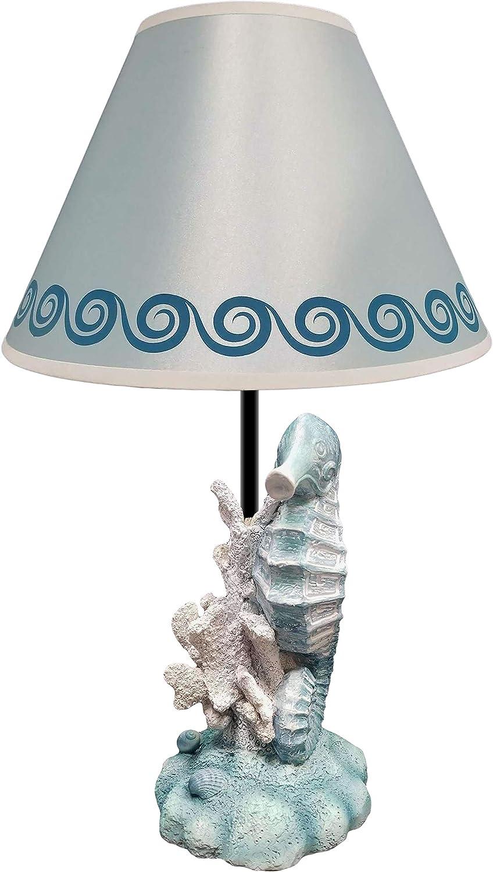 CF026 Ceramic Seahorse Nautical Handmade Pendant or Charm Midnight Black 30mm 1