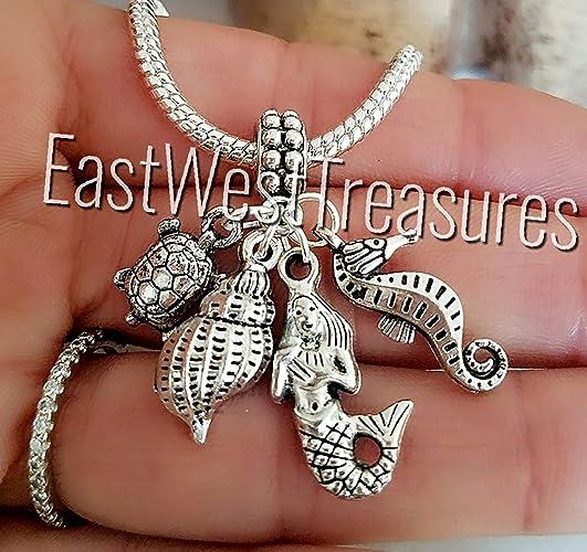 fbdbe3771 Amazon.com: EWT Beach girl, Mermaid, seashells, Sea turtle, sea ...